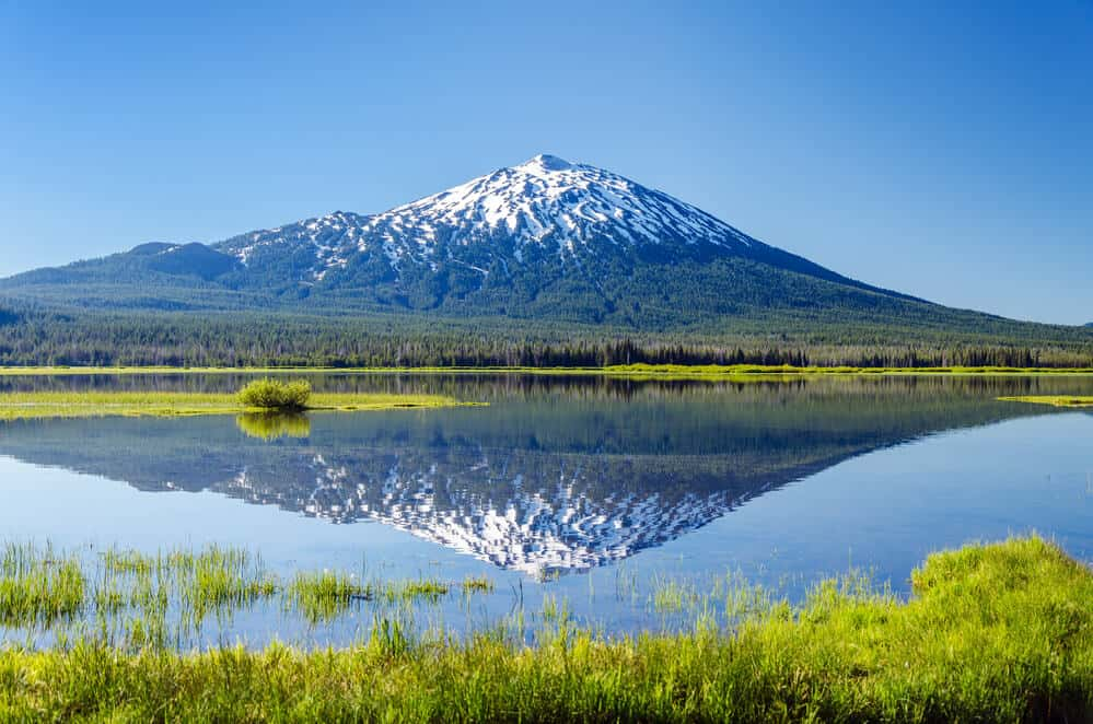 Mount Bachelor in Bend