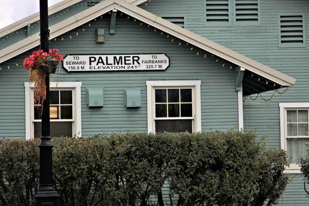 Palmer Train Station