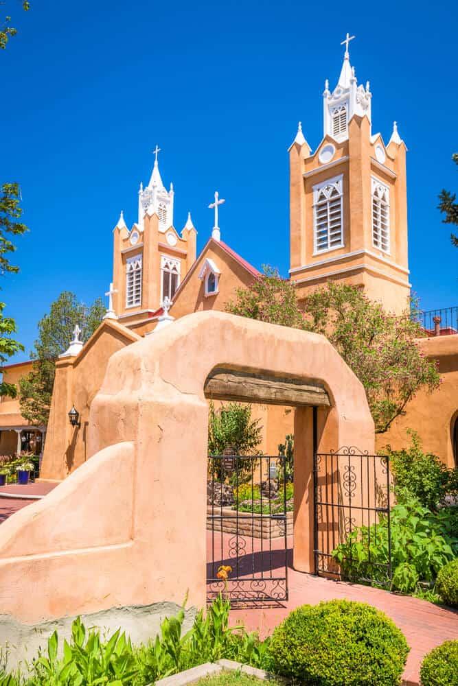 San Felipe de Neri Church in Old Town, Albuquerque
