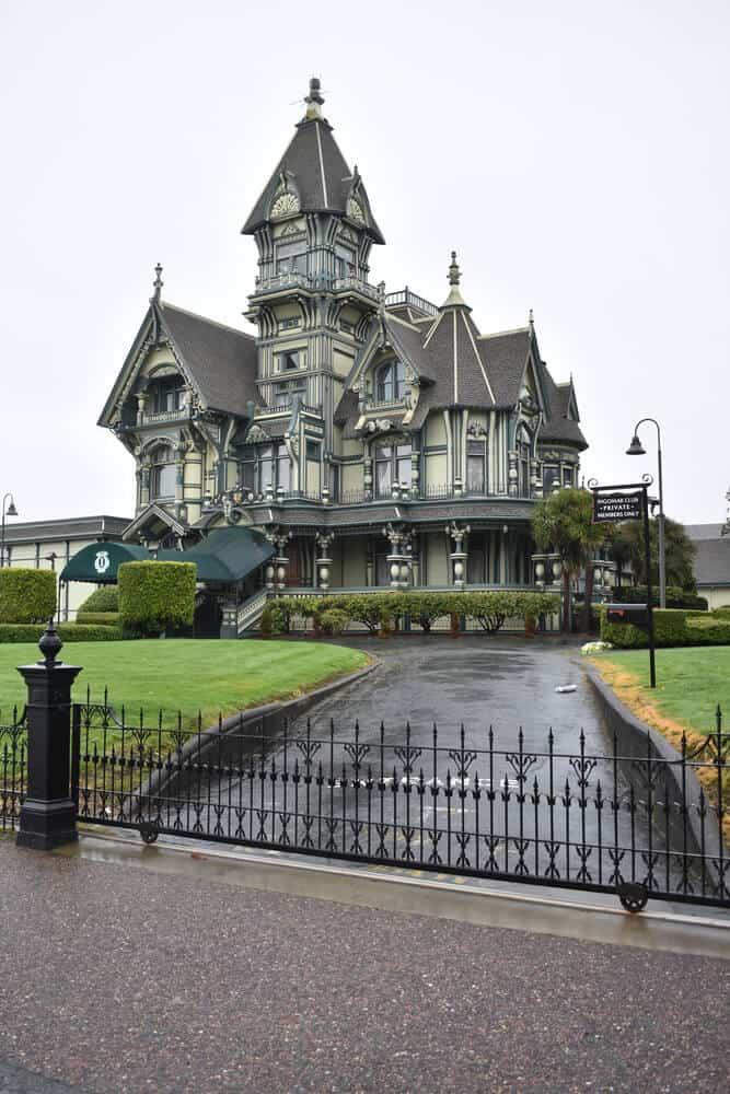 The Carson Mansion in Eureka, California