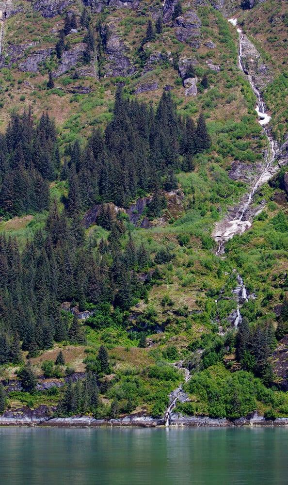 Turnagain Arm Waterfall