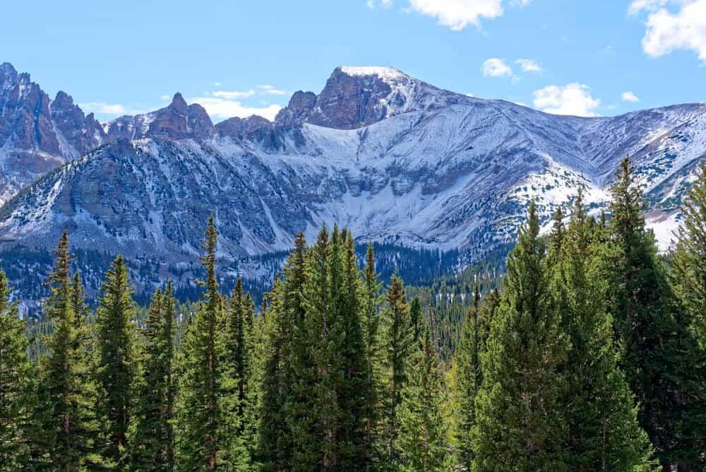 Wheeler Peak in Great Basin