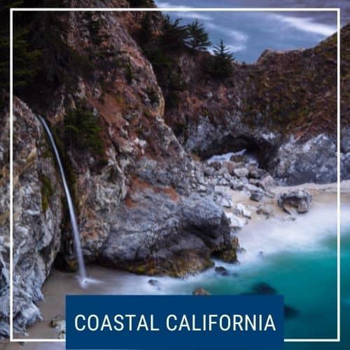 Dotted Globe Coastal California Road Trip