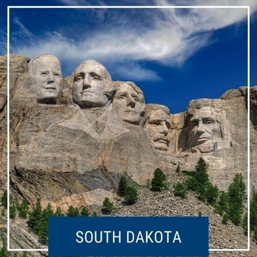 Dotted Globe South Dakota Road Trip