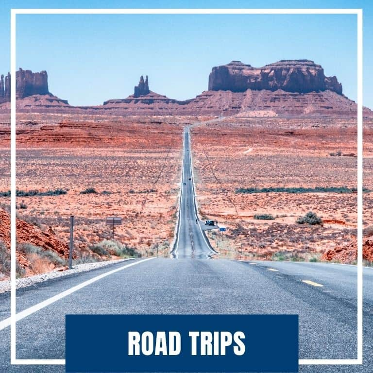 Click here to navigate to USA Road Trips Category of Dotted Globe Travel Blog