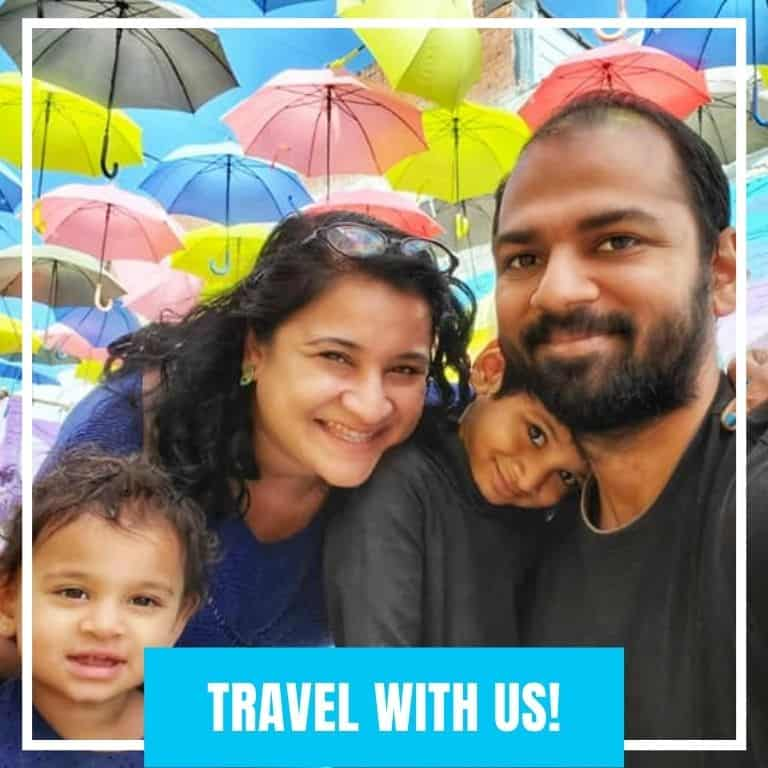This is a photo of Dotted Globe USA Travel Blog Family