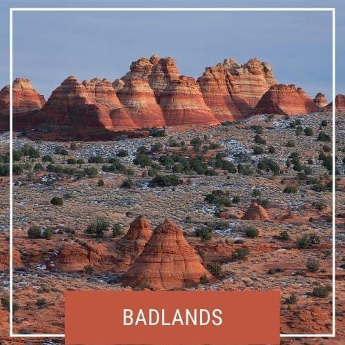 Dotted Globe USA Travel Blog National Parks Badlands