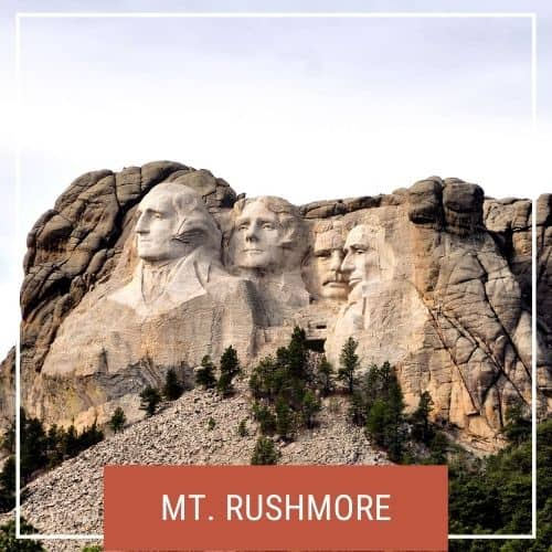 Dotted Globe USA Travel Blog National Parks Mt. Rushmore