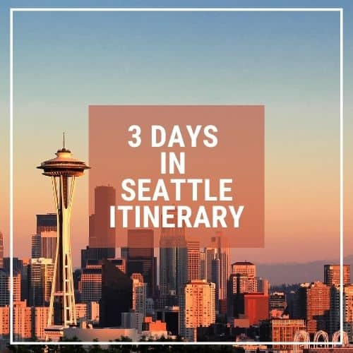 Dotted Globe USA Travel Blog Readers Fave Seattle Itinerary