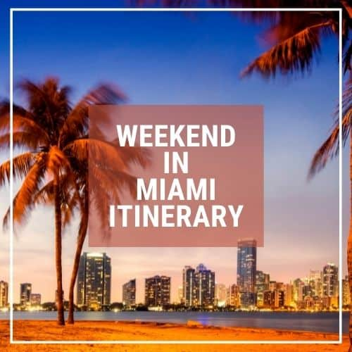 Dotted Globe USA Travel Blog Readers Fave Weekend in Miami
